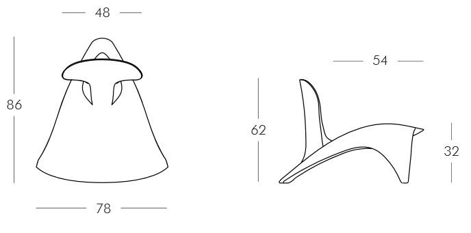 Diagrama sillón Isetta de Slide