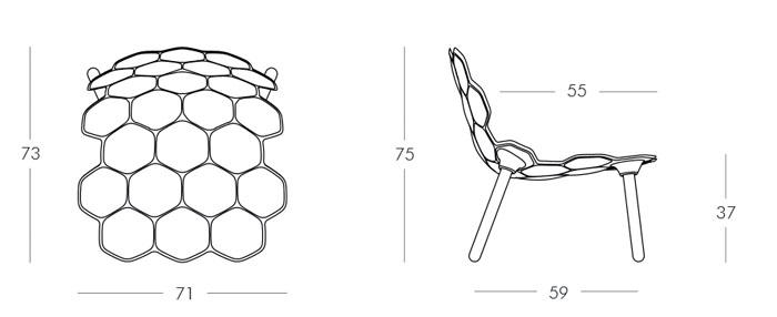 Diagrama silla Tarta de Slide