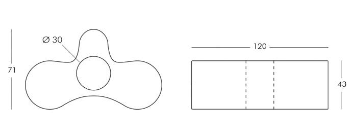 Diagrama silla Wheely de Slide