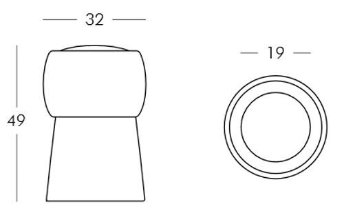Diagrama taburete Cin Cin de Slide