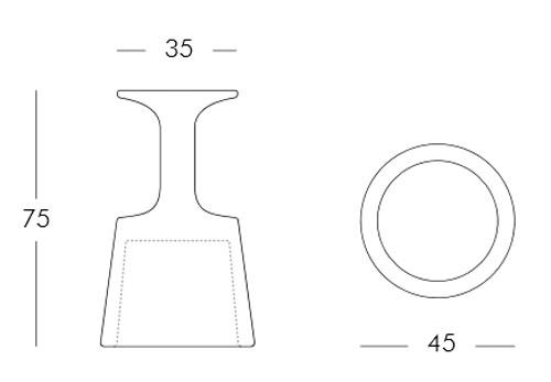 Diagrama taburete Drink de Slide