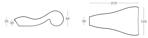 Diagrama tumbona Rococó de Slide