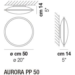 Dimensiones PP50 Aurora