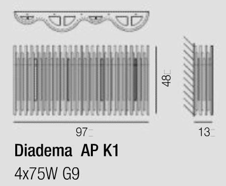 Diagrama Diadema AP K1 G9
