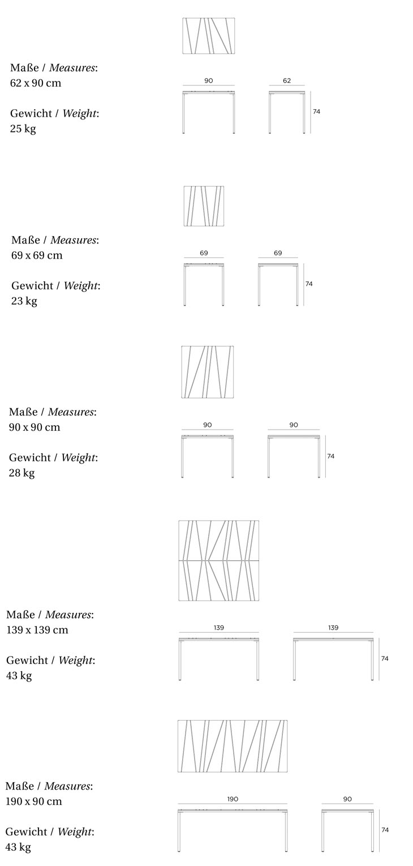 Dimensiones mesa comedor - Dimensiones mesa comedor ...
