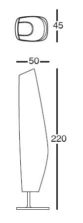 Diagrama de lámpara Blanca de Vondom