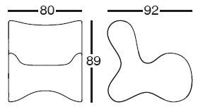 Diagrama de butaca de diseño Doux de Vondom