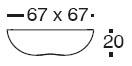 Diagrama de mesa Pillow de Vondom