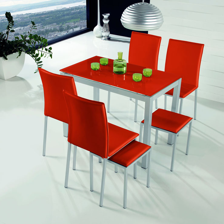 Mesas de cocina modernas compra online for Mesas para cocina extensibles