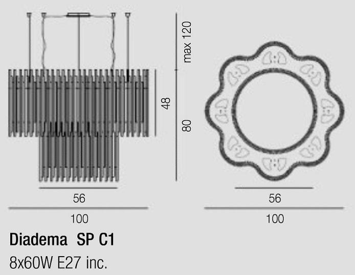 Diagrama Diadema SP C1 E27