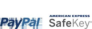PayPal y SafeKey de AMEX