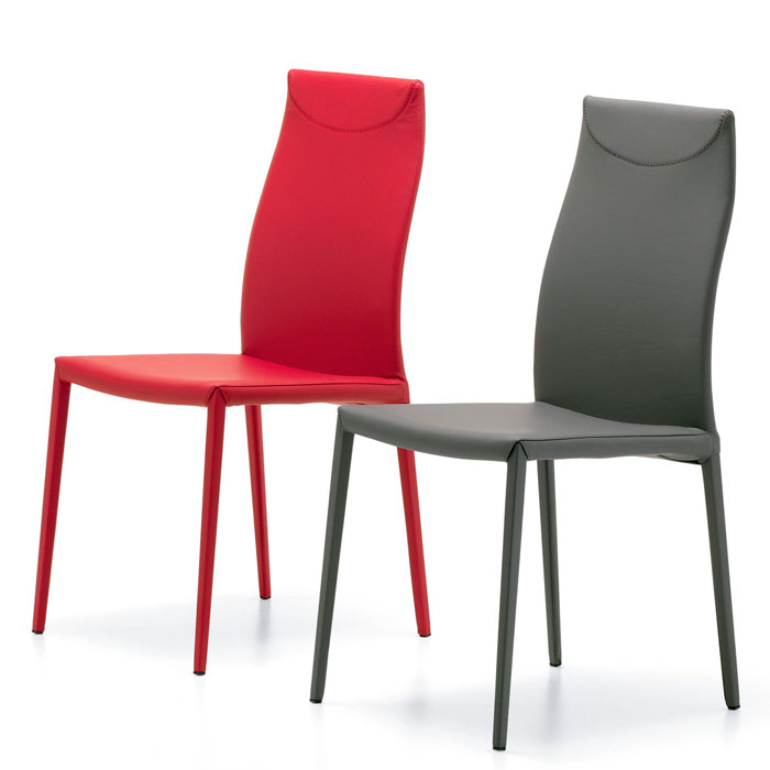 Comprar silla de dise o online for Sillas de piel modernas